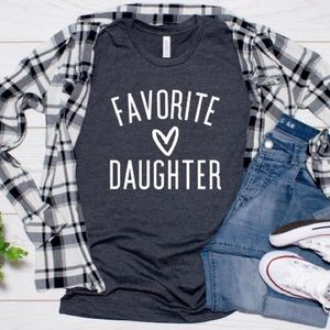 👚 Mothers Day Daughter TShirt NEW Sz XS - 4X Navy